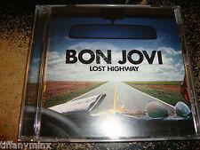 BON JOVI cd LOST HIGHWAY free US shipping