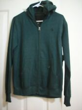 Volcom Sweatshirt Hoodie XL (14 - 16) Boys DARK Green Heathered Hood Pockets New
