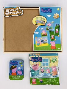 Peppa Pig Children's Puzzles Lot of 7 Complete