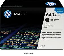 HP 643A (Q5950A) Black Original Toner Cartridge for HP LaserJet 4700