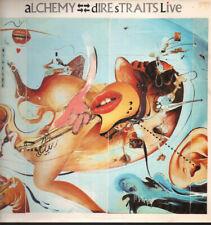 DIRE STRAITS Alchemy DOUBLE LP 10 Track Gatefold Sleeve Has Small Sticker