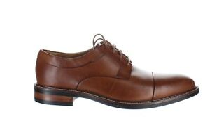 Cole Haan Mens Warren British Tan Oxford Dress Shoe Size 7.5 (Wide) (1471486)