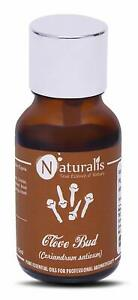 Naturalis Clove Bud Essential Oil for Teeth and Gums - 15ml