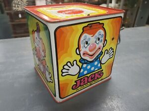 1971 Mattel Jack In The Music Box Vintage NICE
