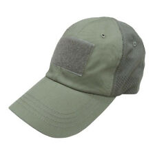 Condor Tcm-001 OD Mesh Tactical Cap Contractor Shooter Hat W  3 Velcro  Panels 7c94e6ece32b