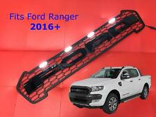 FORD RANGER PICK-UP 2016 + T6 RAPTOR Frontale Griglia Gloss Nero + Bianco LED'S