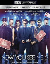 NEW NOW YOU SEE ME 2 4K ULTRA HD+ BLU-RAY+DIGITAL HD! W-SLIP COVER! SEALED