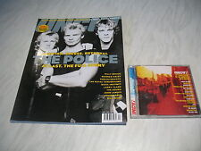 Uncut music magazine # 59 issue 59 April 2002 + cd The Police