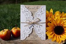 Einladungskarte zur Hochzeit RUSTIK (Wunschtext incl.) Textdruck Einladung Karte