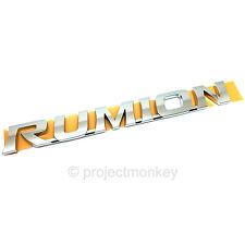 JDM Toyota 08-15 Scion xB bB Rear Rumion Trunk Emblem Badge VIP Genuine Part OEM