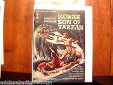 12c 1965 Gold Key #8 Korak Son Of Tarzan Comic High Grade Russ Manning Art