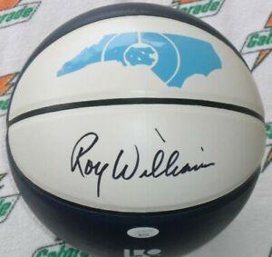 ROY WILLIAMS SIGNED NORTH CAROLINA TAR HEELS LOGO F/Sz BASKETBALL - J.S.A. Cert.