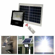 Waterproof Solar Panel Powered LED Spot Light Lamps Garden Outdoor Yard Lawn 10W