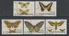 St Thomas & Prince Islands - 1992 Butterflies set - F/U (g)