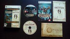 BIOSHOCK + The Elder Scrolls IV OBLIVION : PACK 2 JEUX PC DVD-ROM (complet)