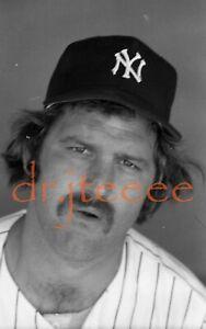 Thurman Munson NEW YORK YANKEES - (MICHAEL GROSSBARDT) Negative
