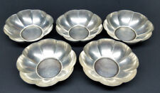Vintage Gorham Sterling Silver 5 Caps Small Bowl Dish Lot of (5)  A13615