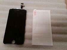 Iphone 6 Plus + Black LCD Digitizer Screen VERIZON AT&T 5.5 Tempered Glass