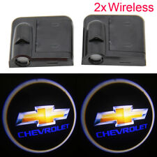 2x Chevrolet Emblem Logo LED Courtesy Shadow Ghost Laser Projector Lights