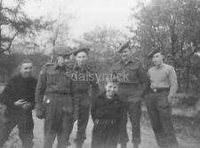 "Canadian Army Scottish Reg Floyd Watkins Nijmegen 1945 World War 2 7x5"" Photo R"