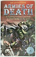 Book Fighting Fantasy 14 Armies of Death - Ian Livingstone 2003