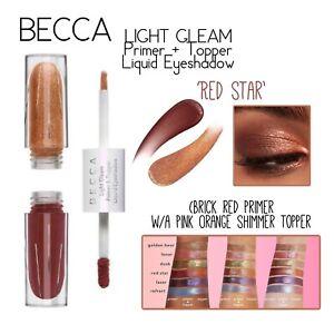 BECCA Cosmetics Light Gleam Primer & Topper Liquid Eyeshadow-Red Star