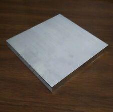 """.25"""" X 8"""" X 8"""" long new solid 6061 aluminum plate flat stock bar block 1/4"""