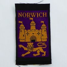 New Vintage Extinct Norwich North District Scout Badge Ribbon Woven Ref 355