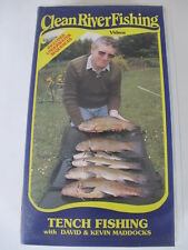 Tench Fishing with David & Kevin Maddocks - Angling / Fishing VHS Video