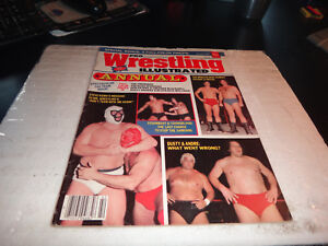 Pro wrestling illustrated annual magazine summer 1984 the briscoes rhodes wwf
