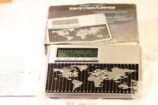 Mitaki-Japon Monde Horloge Alarme Calendrier