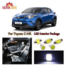 13x White COB LED Xenon Lights Interior Package Kit for 2018 TOYOTA C-HR