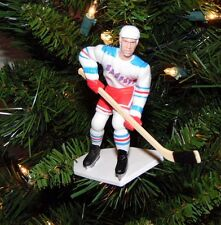 brian LEETCH new york RANGERS hockey NHL xmas TREE ornament HOLIDAY white JERSEY
