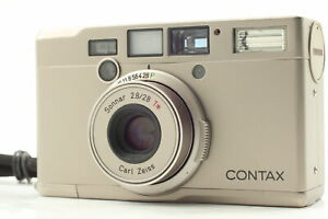 【Near MINT W/ STRAP】 Contax Tix Carl Zeiss 28mm f/2.8 Point&Shoot Camera JAPAN