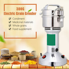 300G Electric Herb Grain Mill Grinder Wheat Cereal Flour Powder Machine Tool AU