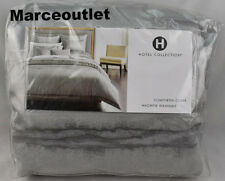 Hotel Collection Muse FULL / QUEEN Duvet Cover Gray