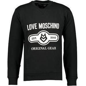 Love Moschino Black & White Sweatshirt