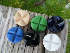 Old German Sample Vintage Glass Buttons Excellent Collectible Sewing Sew Crafts