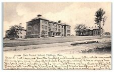 1908 State Normal School (now Fitchburg State University) Fitchburg, MA Postcard