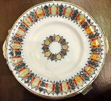 Rare Antique Victorian Pinder Bourne & Co (Royal Doulton) Porcelain Cake plate