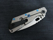 Black Titanium Deep Carry Pocket Clip for Strider SNG Strider SMF Strider PT