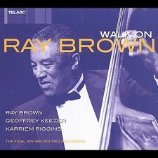 Ray Brown Trio - Walk On: The Final Ray Brown Recording CD Used Jazz Bass 2003