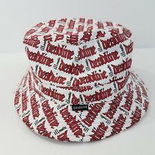 Deadline illmatic Bucket Hat Small Medium White Red Black Chalkline S/M