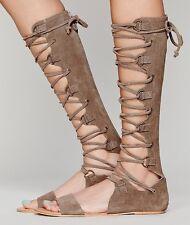 Free People Women's Decibel Tall Gladiator Sandals Retail $128 size 9