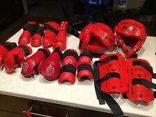 Proforce Lightning Martial Arts Headgear Helmets, Gloves,etc Plus Other Red,