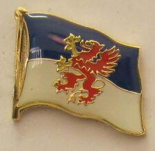 Pommern Pin Anstecker Flagge Fahne Flaggenpin Badge Button Clip Anstecknadel