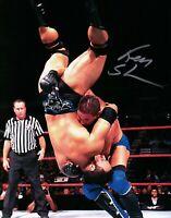 Ken Shamrock Signed Autographed 8X10 Photo MMA UFC Fighter WWF Body Slam w/COA