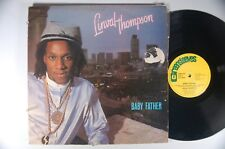 LINVAL THOMPSON Baby Father REGGAE Import LP U.K. GREENSLEEVES Channel One
