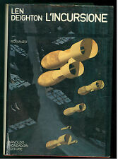 DEIGHTON LEN L'INCURSIONE MONDADORI 1971 OMNIBUS SPIONAGGIO MILITARIA