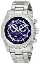 Men's Invicta 1560 Specialty Chronograph Blue Dial Stainless Steel Watch